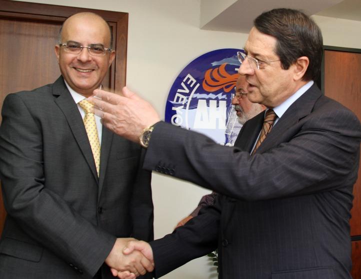 Ν. Αναστασιάδης και Μ. Καρογιάν θα αποφασίσουν από κοινού για το πρόσωπο στο Υπουργείο Οικονομικών και στο Υφυπουργείο Ενέργειας.