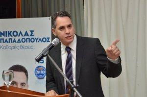 Ο Νικόλας Παπαδόπουλος οργανώνεται με συγκεντρώσεις σε όλες τις επαρχίες.